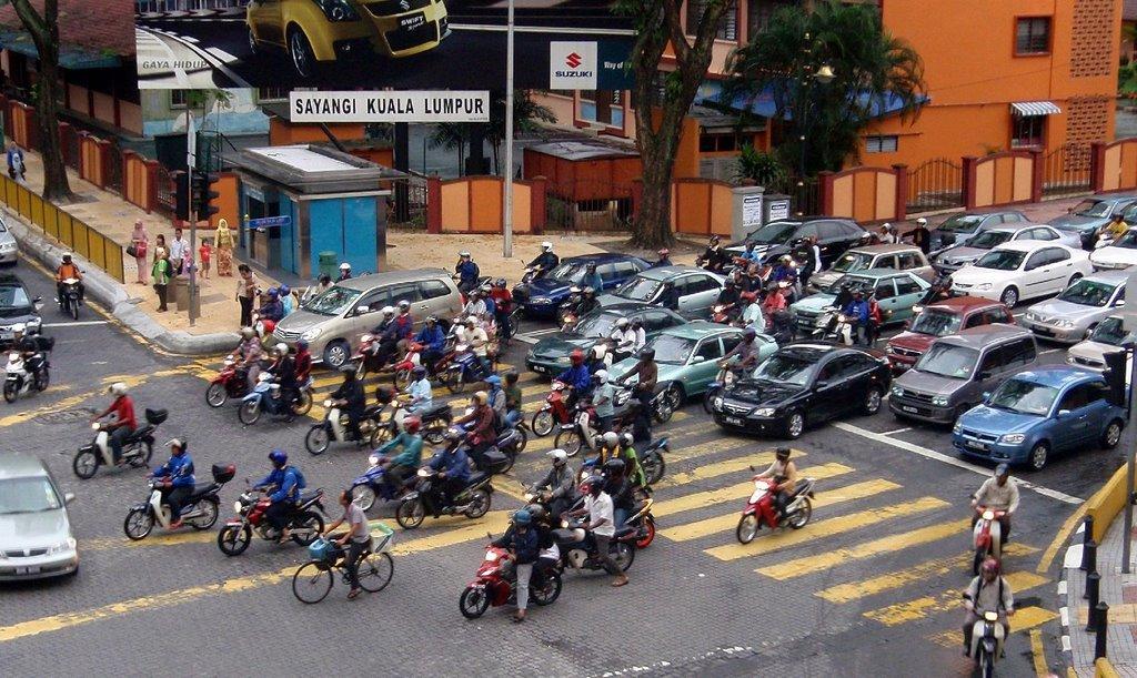 RAK Kuala Lumpur – in traffic!
