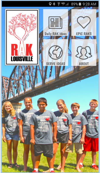The RAK LOUISVILLE APP is READY!!!